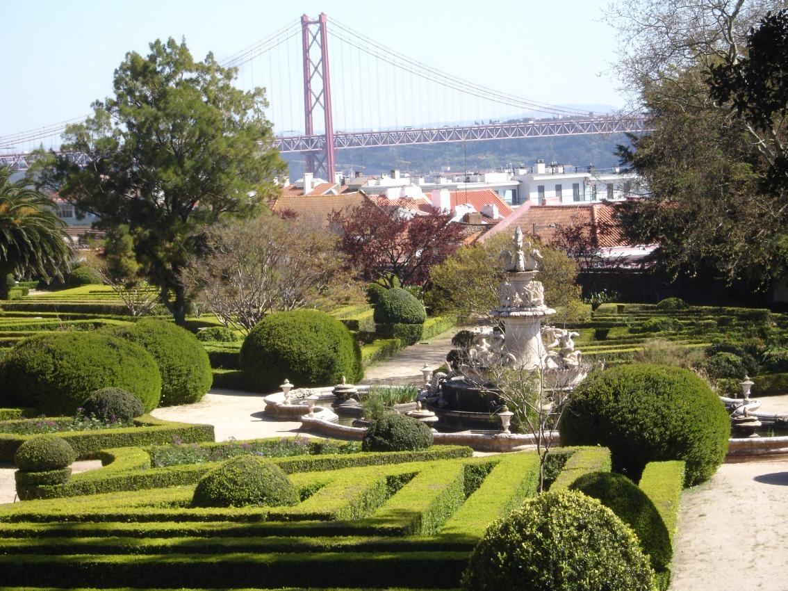 Ботанический сад Ажуда - Лиссабон | 850x1134